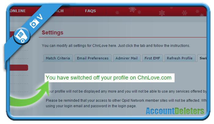 delete chnlove account 7