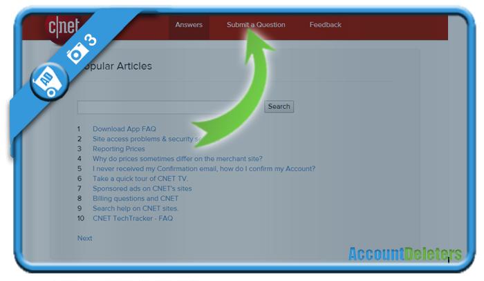 delete cnet account 3