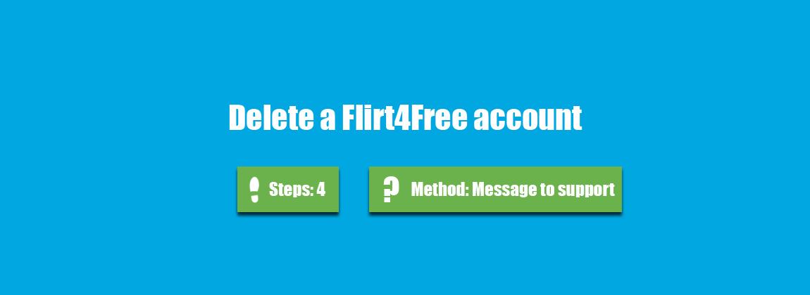 Deactivate my flirt account