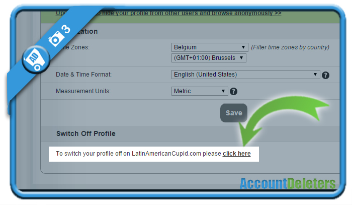 delete latinamericancupid account 3