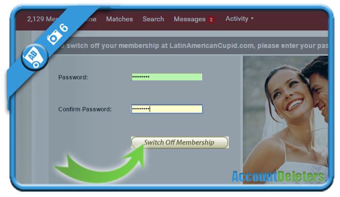 delete latinamericancupid account 6