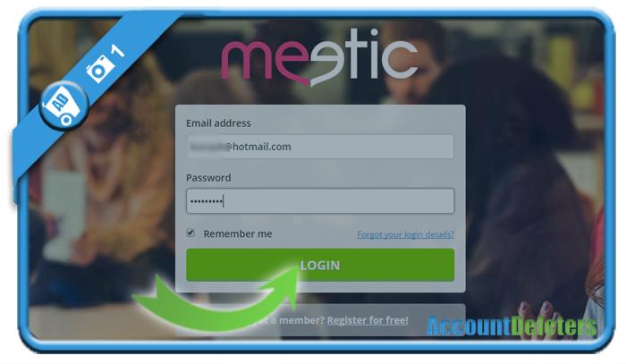 delete meetic account 1