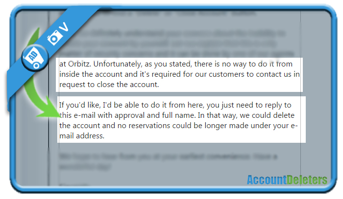 delete orbitz account 2