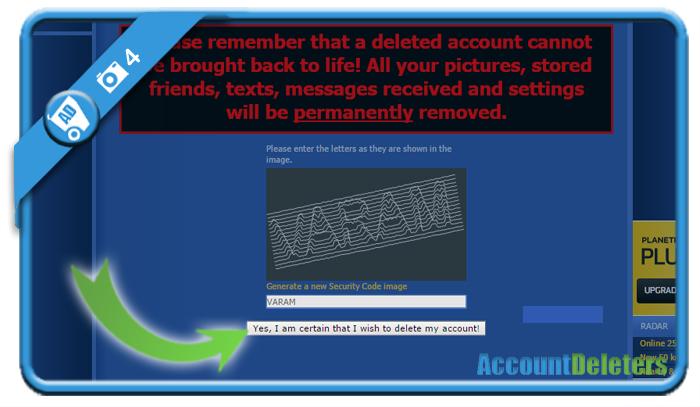 delete planetromeo account 4