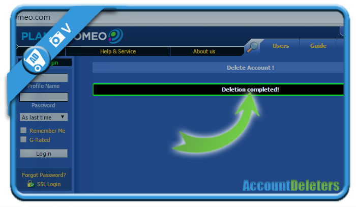 Password planetromeo login Lost my
