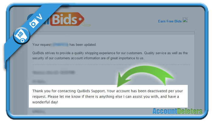 delete quibids account 5