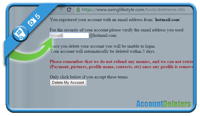 delete swinglifestyle account 5