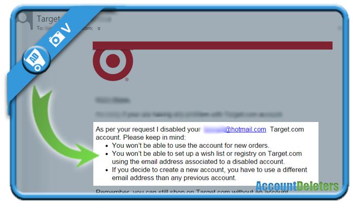 delete target account 4