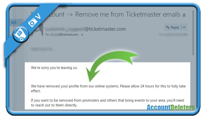 delete ticketmaster account 4