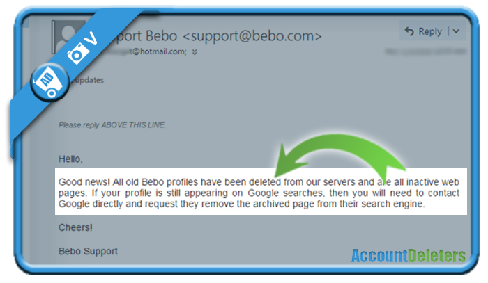 delete bebo account 2