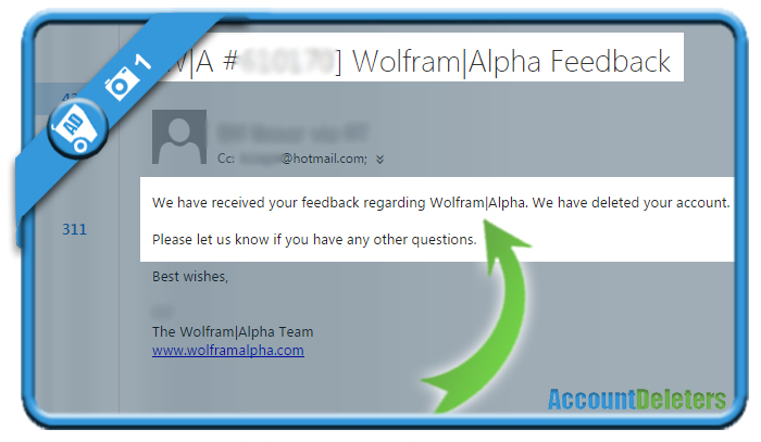 delete wolfram alpha account 2