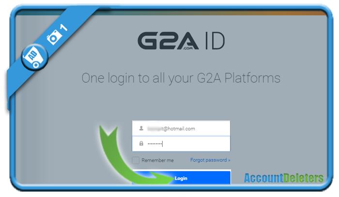 delete g2a account 1