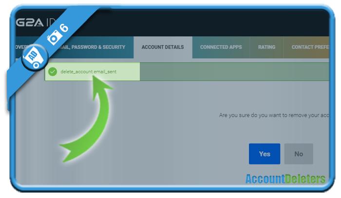 delete g2a account 6