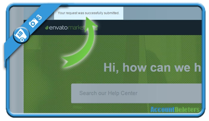 delete envato account 3