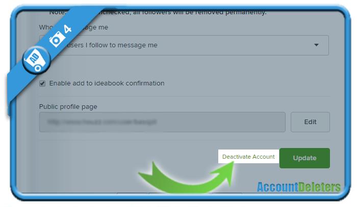 delete houzz account 4