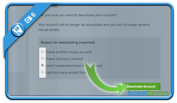 delete houzz account 6