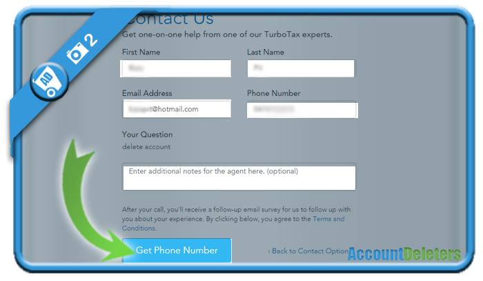 delete turbotax account 2