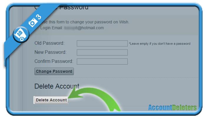 delete wish account 3