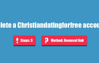 delete christiandatingforfree account
