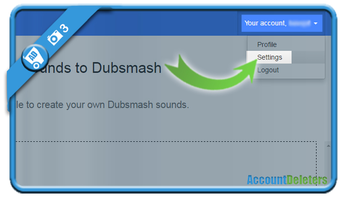 delete dubsmash account 3