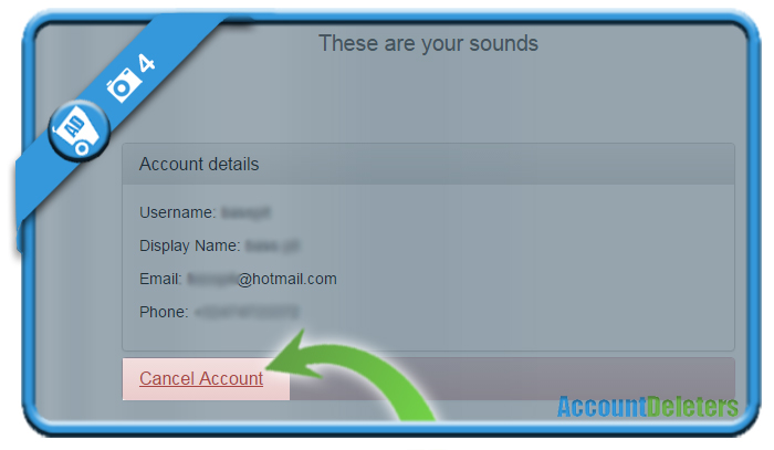 delete dubsmash account 4