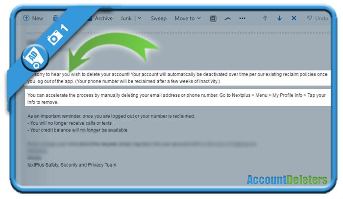 delete textplus account 1