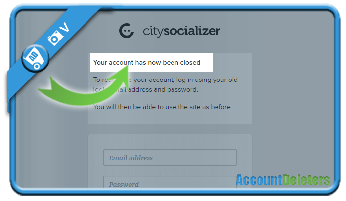 delete citysocializer account 6