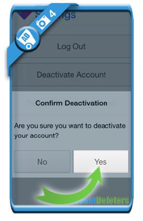 delete firstmet account 4