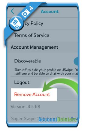 delete jswipe account 4