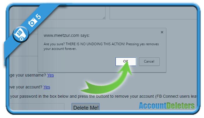 delete meetzur account 5