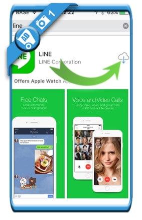 create line account 1