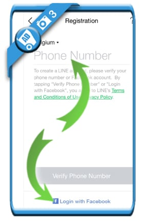 create line account 3