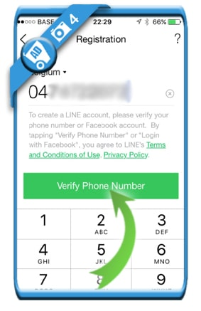 create line account 4