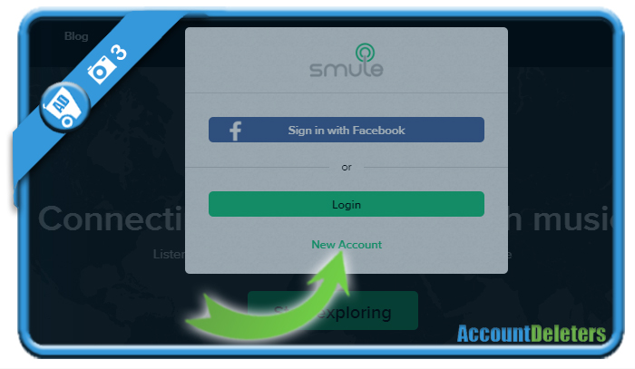 create smule account 3