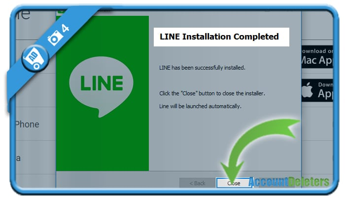 install line on pc 4