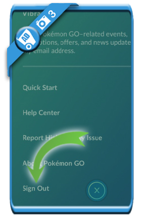 pokemon go sign out 3
