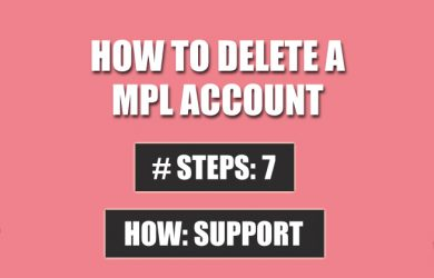delete mpl account