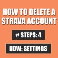 delete strava account