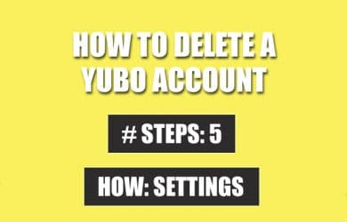 preview delete yubo account